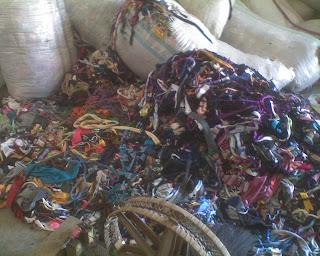 Pemanfaatan limbah majun tali