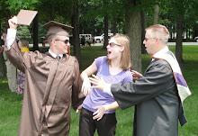 Eric has graduated!!