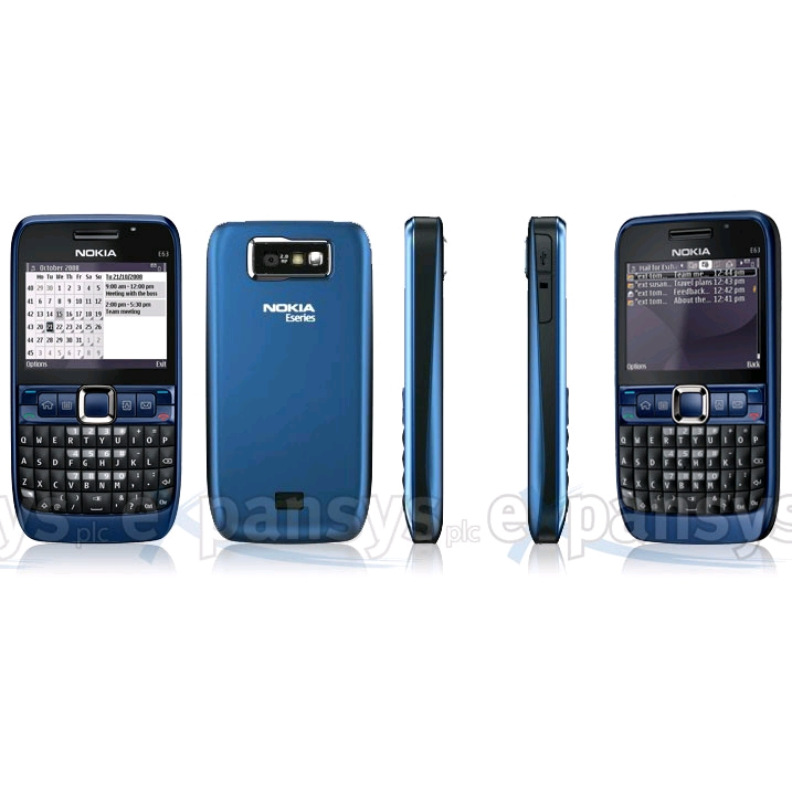 nokia e63 how to start it