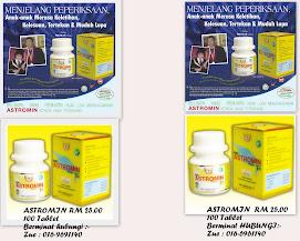 Astromin - Nutrisi Minda sesuai untuk semua peringkat umur