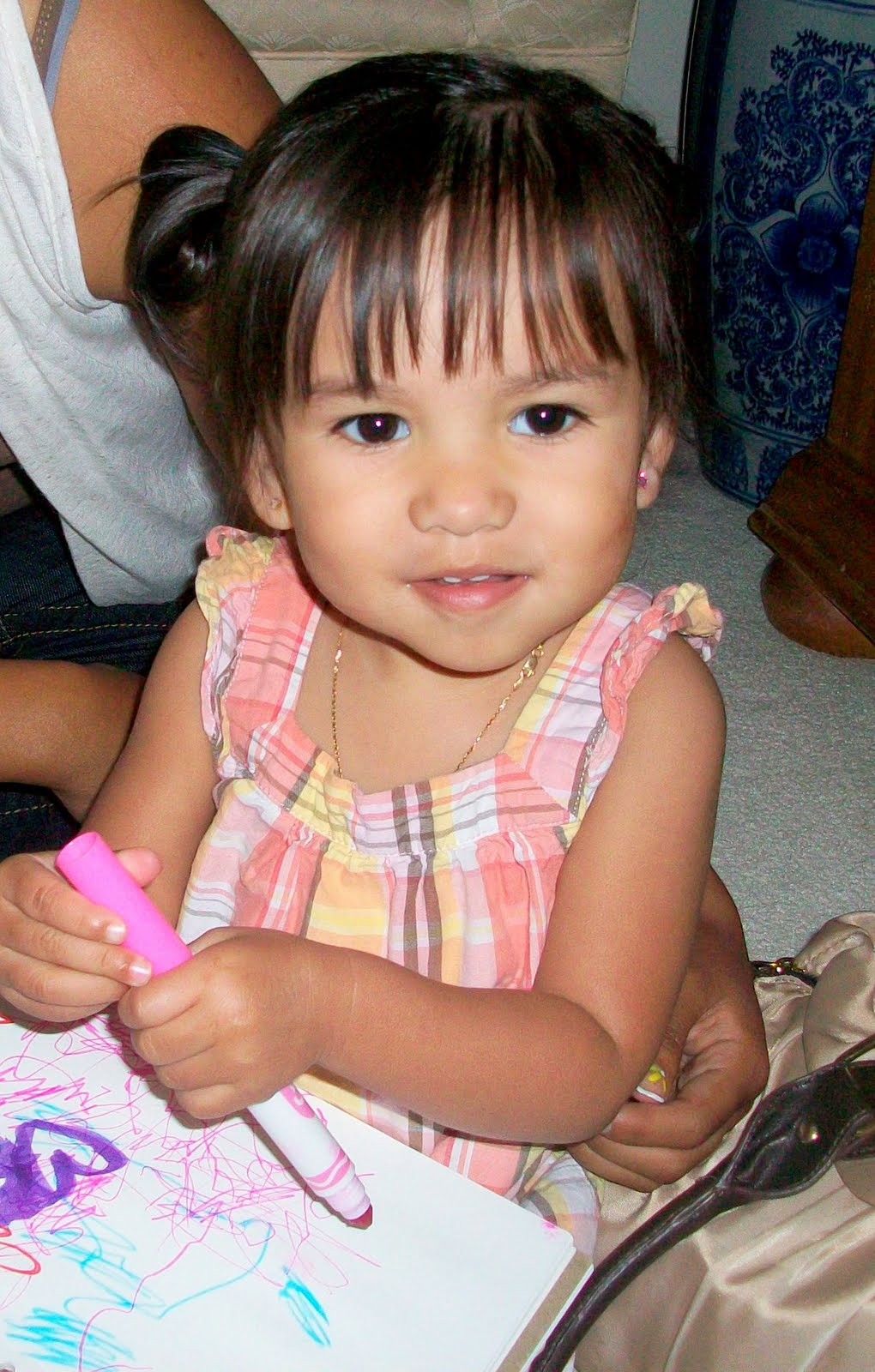 Very Young Little Mexican Girl