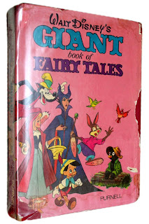 Walt Disney's Giant Book of Fairy Tales, Hardcover, 1972