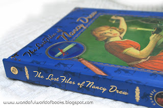 The Lost Files of Nancy Drew Hardcover (interactive inserts and pop-ups)