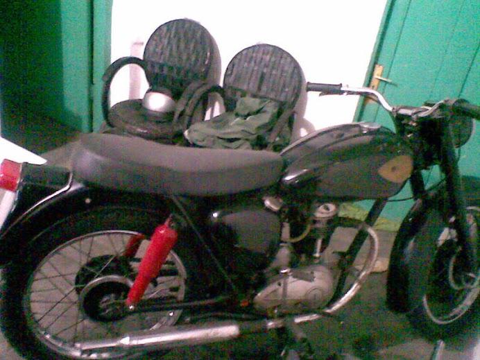 bsa c15 250cc,orsl,mls,siap pakai