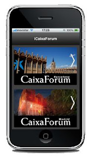 "iCaixaForum, aplicació de ""la Caixa"""
