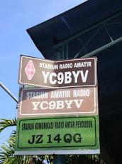 YC9BYV dan JZ14QG QTH Denpasar, Bali