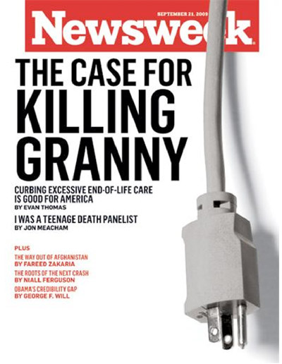 Eco Fascists Call For Tyranny To Enforce Draconian Agenda newsweek granny