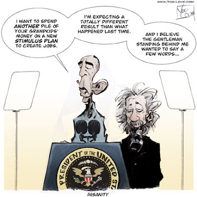 Einstein on Obama