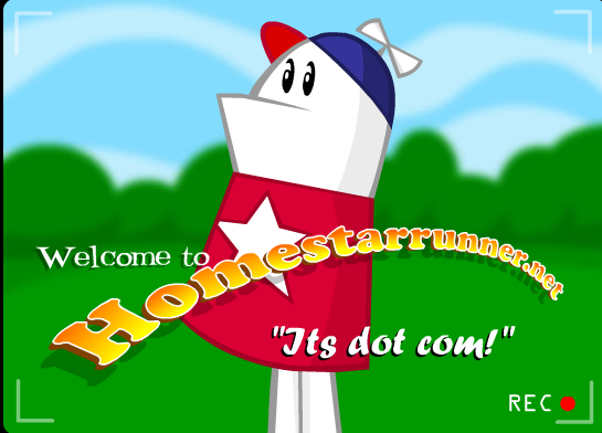 homestar runner logo. It#39;s Homestar Runner.