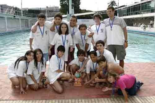 FLUMINENSE CAMPEÃO<br>II FESTIVAL ESTADUAL INFANTIL 2006