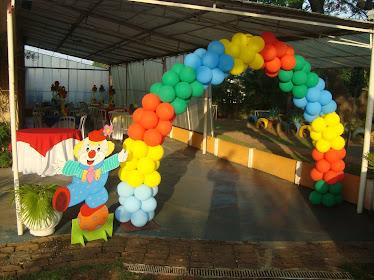 Arco Entrada/Festa Circo