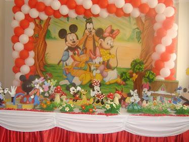 Disney no Jardim