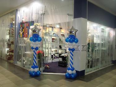 Colunas decorativas para lojas