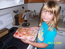 See my cake. I decorated it myself!!