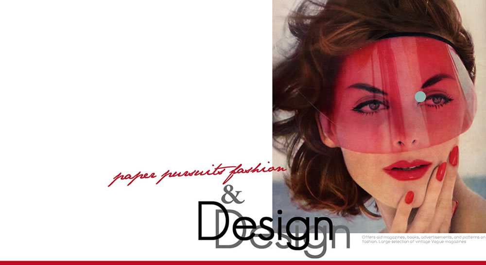 Paper Pursuits Fashion & Design Print Collectibles