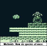 Metroidmorphosis.
