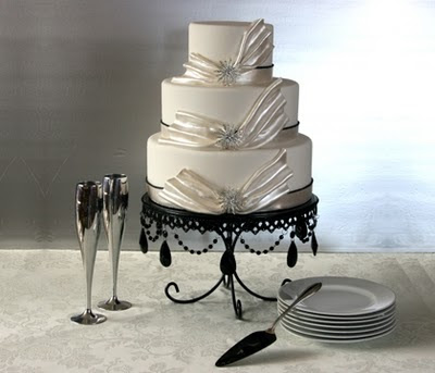 Confectionary Designs: NJ Wedding Cakes - White Velvet ...