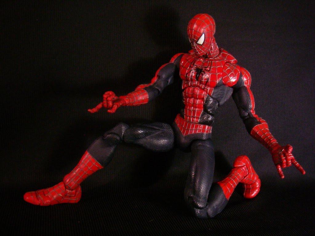 toy biz marvel spiderman 2 super poseable 18 inch. Black Bedroom Furniture Sets. Home Design Ideas