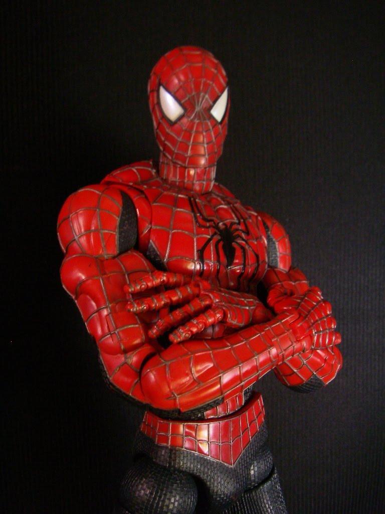 18 Inch Spider Man 2 Toy : Toy biz marvel spiderman super poseable inch