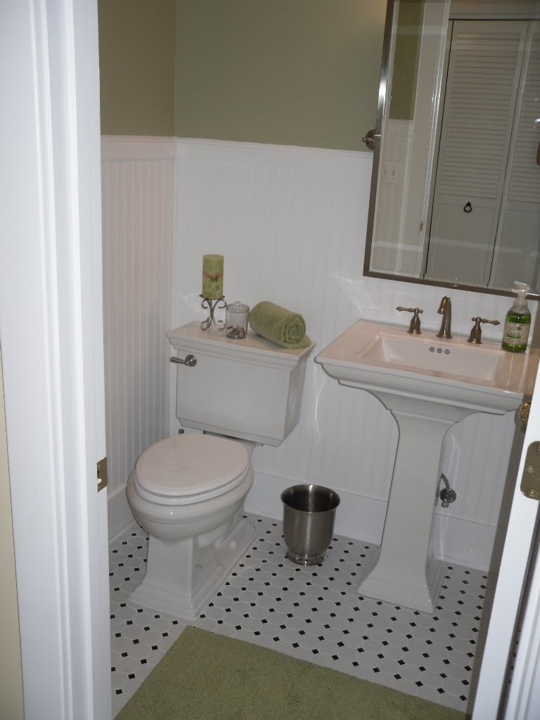 Fabulous finds june 2010 - Bathroom remodel ideas with wainscoting ...