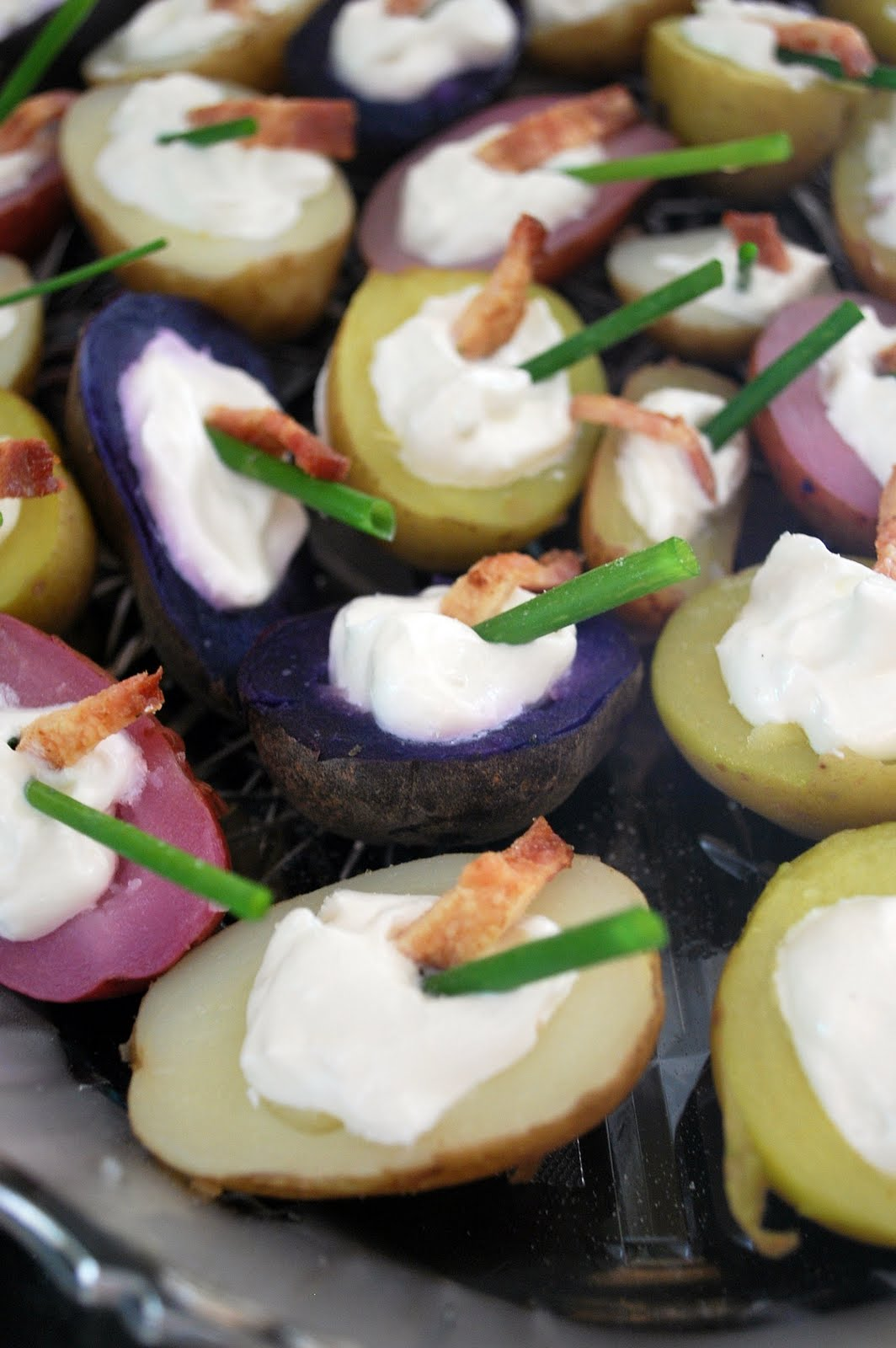 Mini Baked Potatoes With Aioli And Pimientos Recipes — Dishmaps