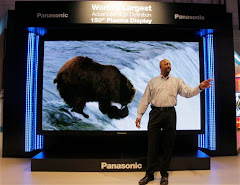 "Panasonic""s 150"" LCD TV"