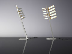 Ingo Maurer OLED Lamp ProtoTypes