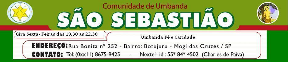 COMUNIDADE DE UMBANDA