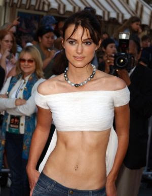 keira knightley with no clothes on