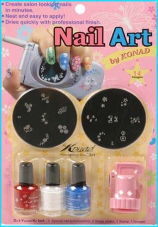 Konad Nail Stamps Uk