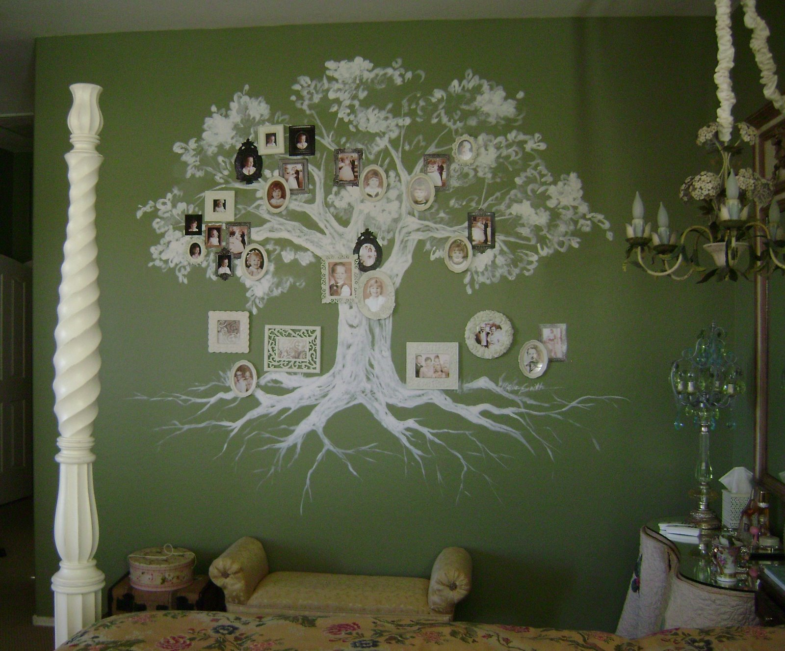 Wall Family Tree Image
