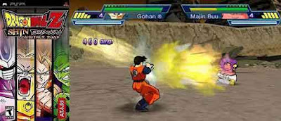 DragonBallZ Dragon Ball Z: Shin Budokai   Another Road