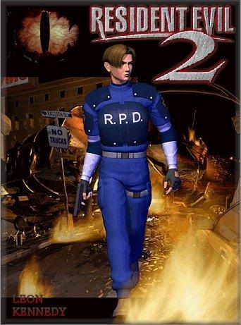 LeonPoster %2528ResidentEvil2%2529 Resident Evil 2