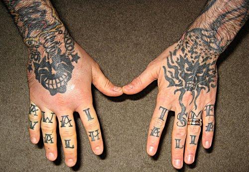Big Ten Tattoos Best Hand Tattoos Location For Men