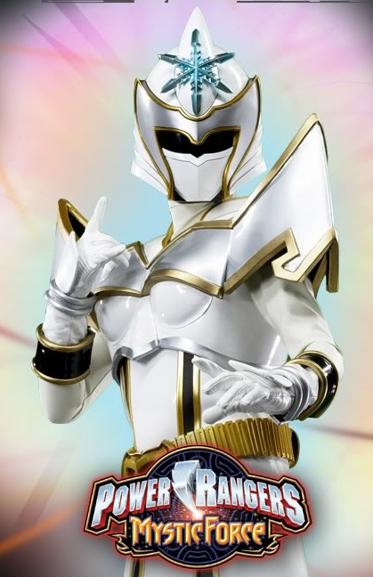Mother  Magiranger  2005    White Mystic Ranger  Mystic Force-2006White Mystic Ranger