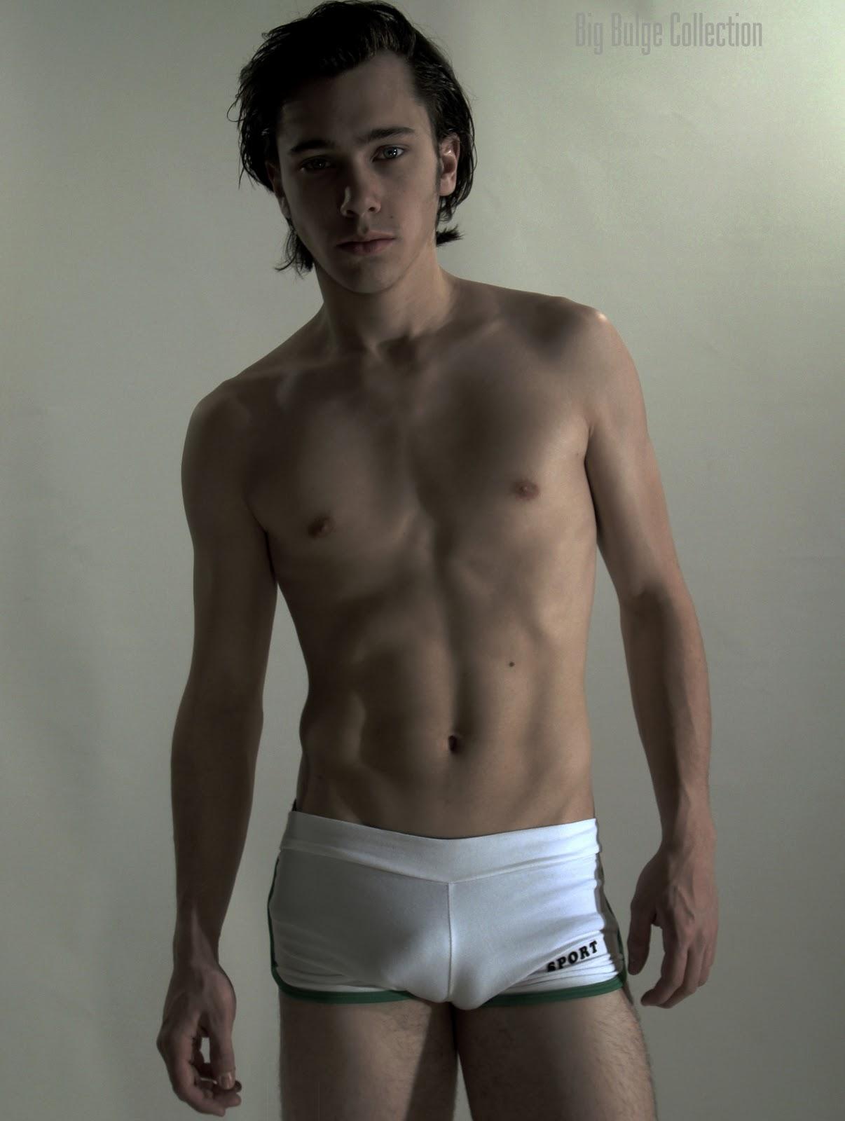 Garrett Clayton Underwear Short Hairstyle 2013