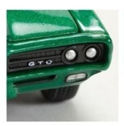 Pontiac Diecast M2 Machines 1969 Pontiac GTO In Metallic Grass