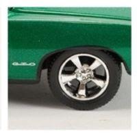 Pontiac Diecast 1/64th Scale M2 Machines 1969 Pontiac GTO Metallic Grass
