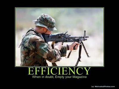 Patriot Nation Motivational Poster US Military Efficiency