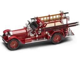 Marks Diecast Yatming 20218 1-24th Scale 1927 American LaFrance Fire Engine Red