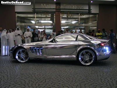 Marks Diecast Mercedes Benz White Gold
