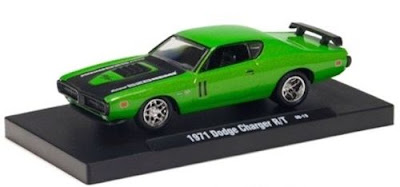 Dodge Models   M2 Machines 1971 Dodge Charger R/T Sublime Green