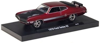 Ford Model Cars  M2 Machines Drivers 4 1970 Ford Torino GT Candy Red  Link To Ford Model Cars Page