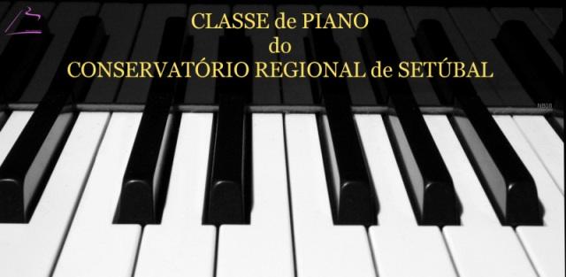 Classe de Piano do Conservatório Regional de Setúbal