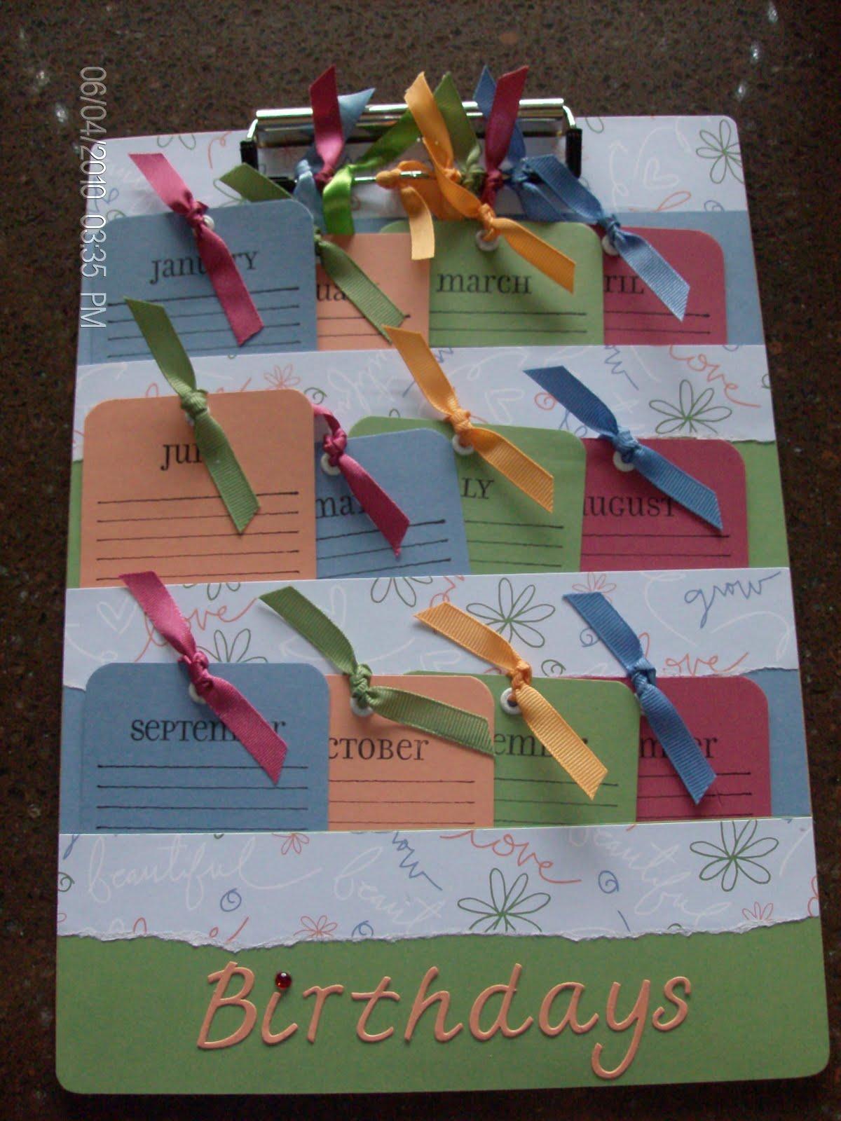Kids Birthday Calendar : Paper cuts kids birthday calendar workshop