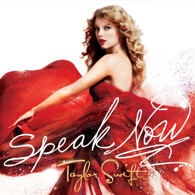 Taylor Swift-Speak Now Deluxe Edition Official Album Cover!