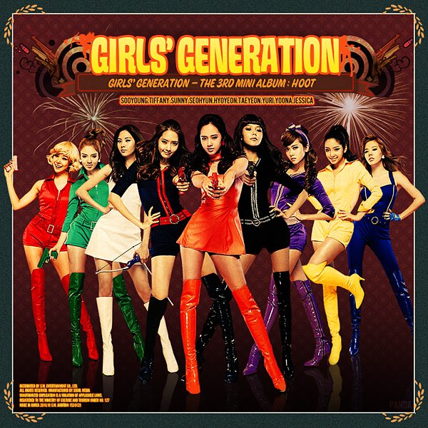 Girls' Generation-Hoot 3rd Mini Album Fan Made Cover!
