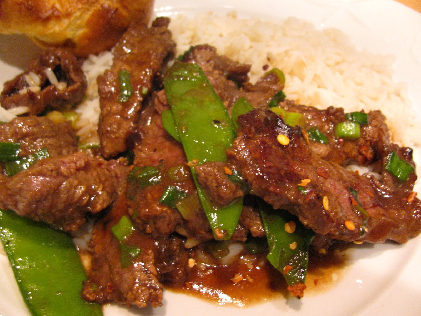 Beef With Snow Peas Recipe — Dishmaps