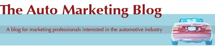 The Auto Marketing Blog