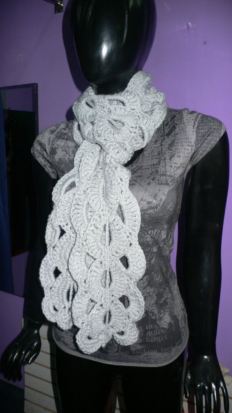Chalinas Y Capas De Crochet